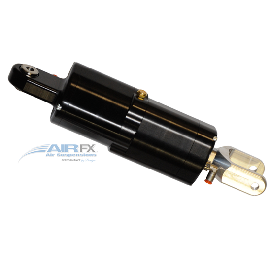 Picture of AirFX Rear Air Ride mono shock with hard coat anodized black finish2010-2016 Victory Baggers