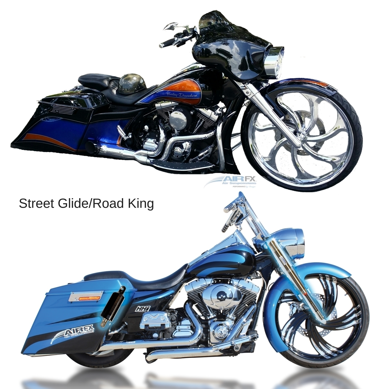 Picture of Harley-Davidson FL/Touring - Street Glide & Road King 2000 - 2008