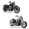 Picture of Harley-Davidson 2018+ Softail Front and Rear Kit,  Stock Front wheel